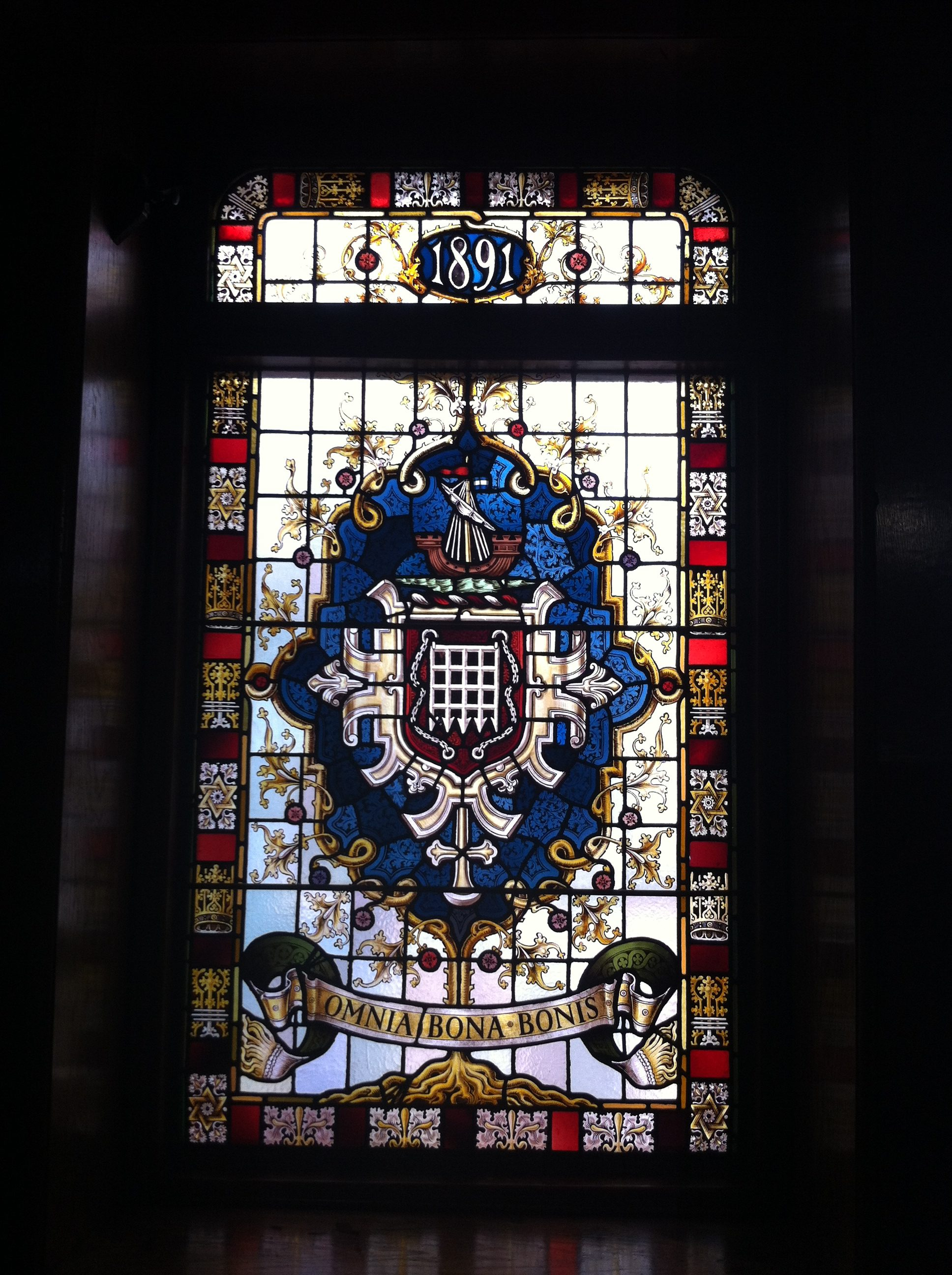 Council Chamber Window