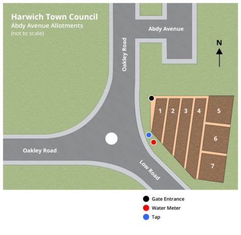 Abdy Avenue Allotment Plan - Harwich Town Council