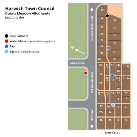 Dunns Meadow Allotment Plans - Harwich Town Council