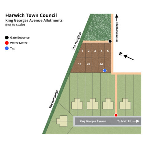 King Georges Avenue Allotment Plans - Harwich Town Council